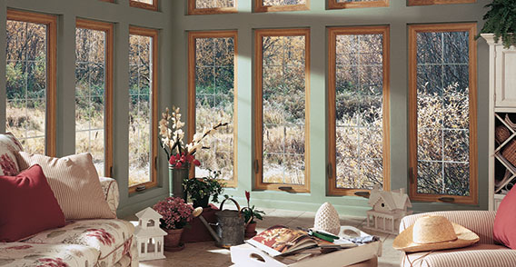 Sun room window