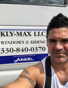 Kly-Max Window and Door Business card
